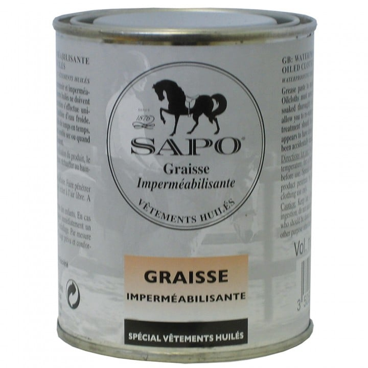 Waterproofing  Grease for Oiled Clothing SAPO